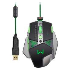 Mouse Gamer Warrior 4000 DPI - Mult - R$ 205,04