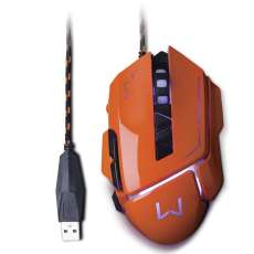 Mouse gamer Warrior 3.200DPI Multil - R$ 88,20