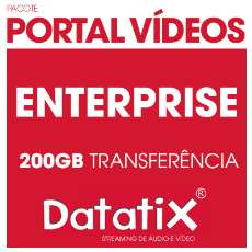 Pacote ENTERPRISE - 200GB streaming - R$ 549,90