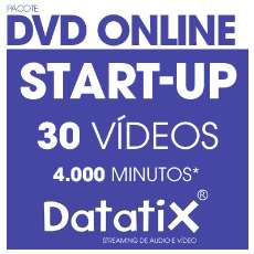 Pacote Streaming DVD Online Startup - R$ 77,90
