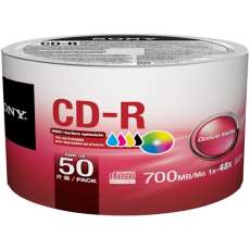 CD-R Sony Printable 700MB 80 min 48 - R$ 1,35