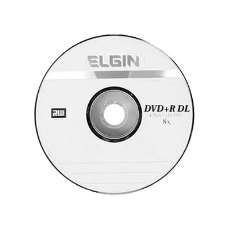 Dvd+r DL 8.5gb 8x elgin - R$ 2,57