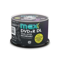 DVD+R Maxprint Dual Layer Printable - R$ 2,62
