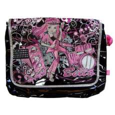 Bolsa de ombro rock and roll Preto - R$ 24,68