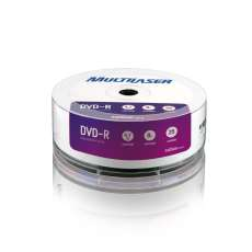 Dual Layer Dvd 8.5GB 8X 10 unid Shr - R$ 10,60