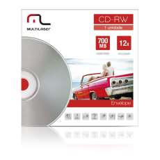 CD-RW  12X 700 MB Multilaser CD037 - R$ 2,58